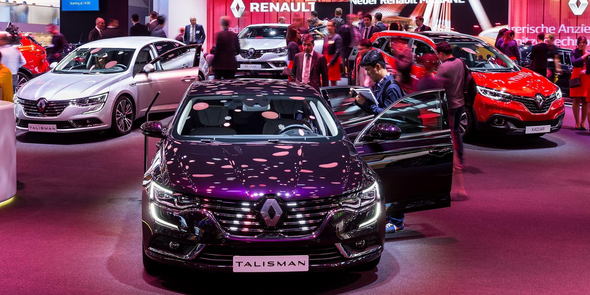 Tolle neue Modelle à la Renault: Talisman, Espace, Kadjar und Clio R.S. Trophy