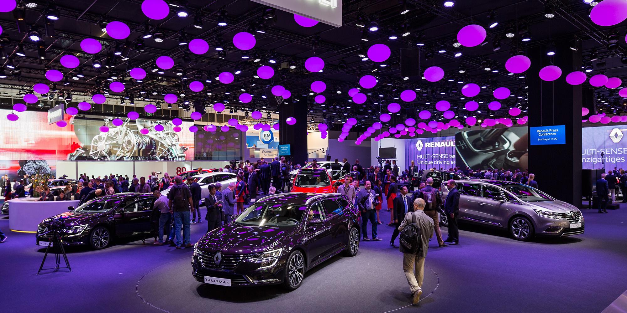 Renault auf der IAA: Stars der großen Auto-Party