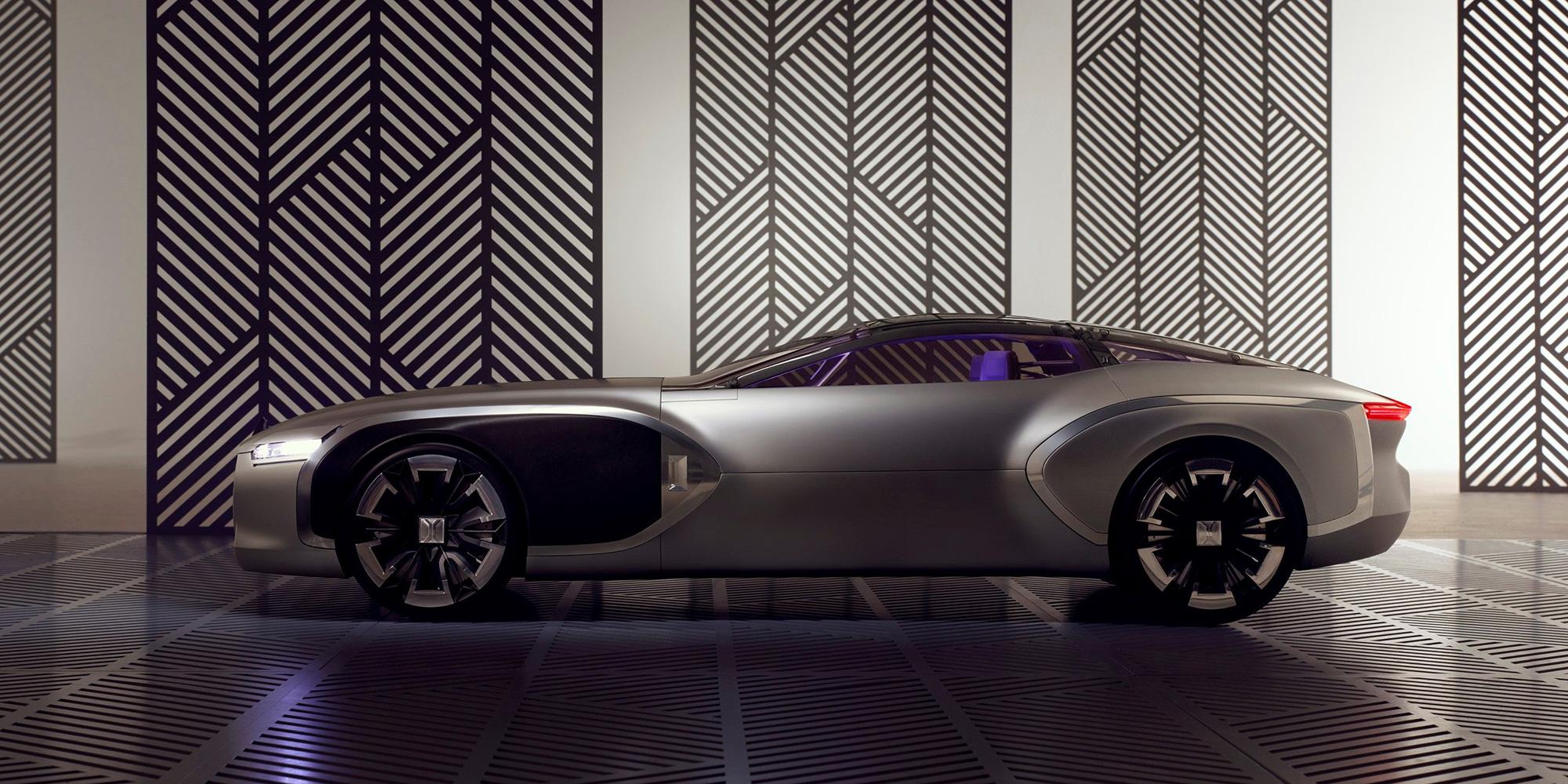Coupé Corbusier: Spektakuläre Flügeltürer-Studie von Renault