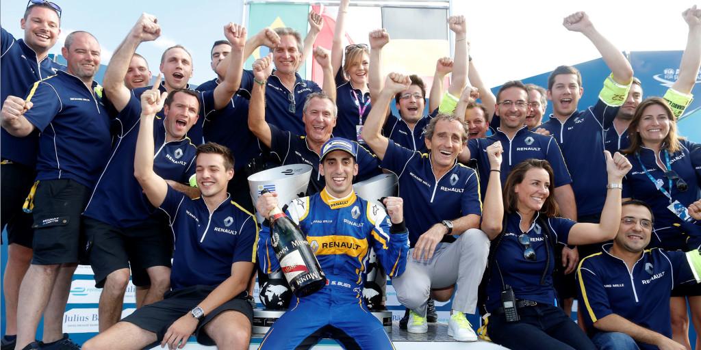 Renaut Formel E - Sieg in Uruguay