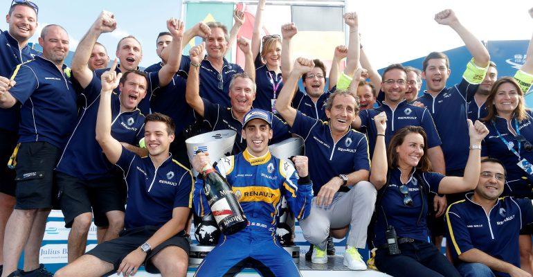 Renault rockt: Formel E Pilot Sébastien Buemi siegt in Uruguay