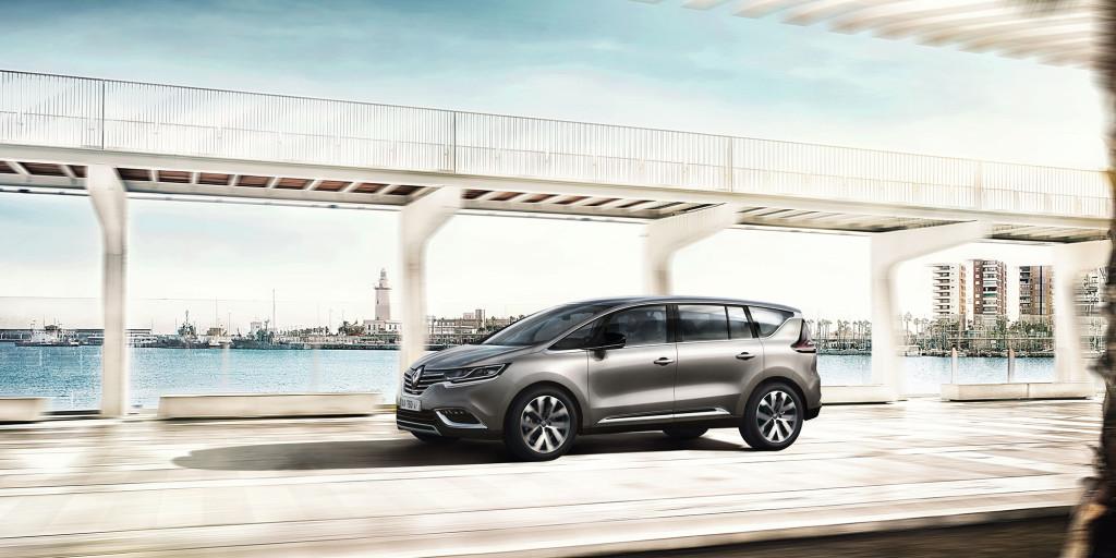 Insassen im Renault Espace top-geschützt