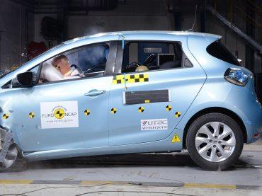 Renault ZOE ist das sicherste Kompaktfahrzeug