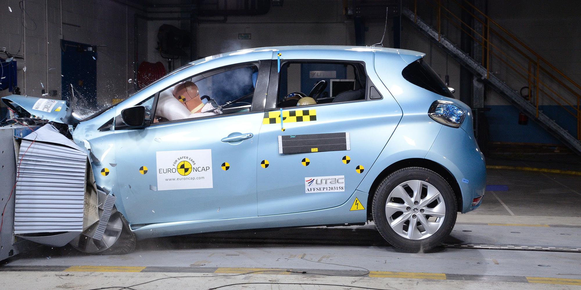 5 Sterne für den Renault ZOE