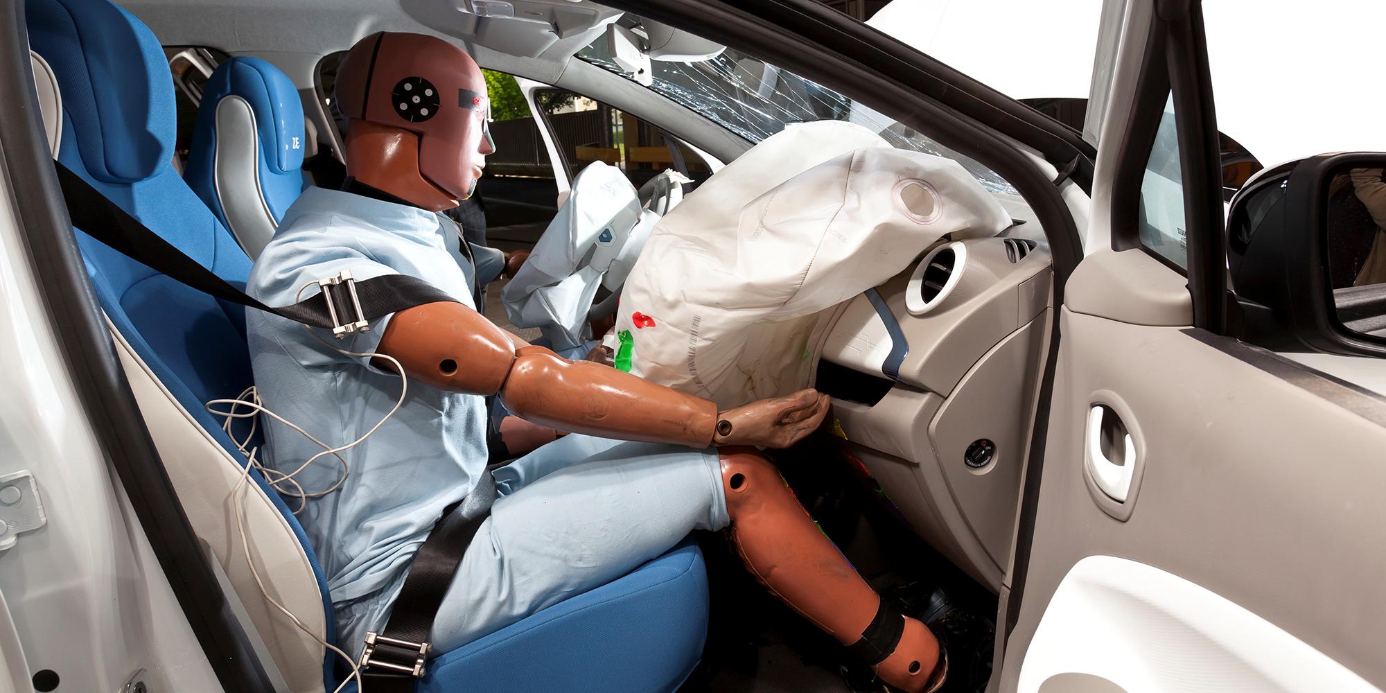 ZOE brillierte im Euro NCAP-Crashtest mit Top-Noten