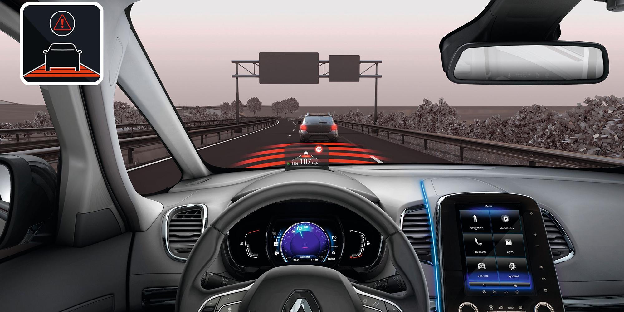 Renault ESPACE: Bremsassistent