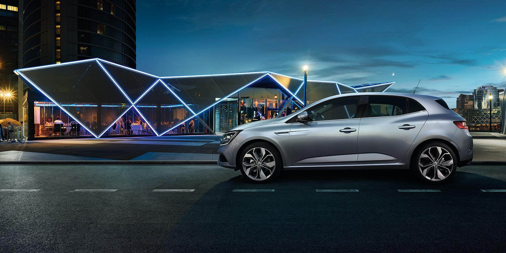 Renault MEGANE: Leidenschaftliches Design für alle Sinne