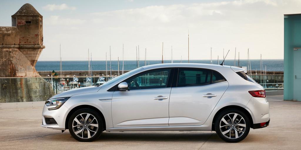 Renault Mégane mit Allradlenkung 4CONTROL®: Weltneuheit in der Kompaktklasse