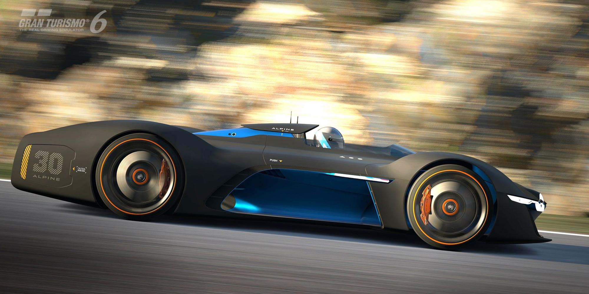 Alpine Vision Gran Turismo, Prototyp, Renault, Design, 2015