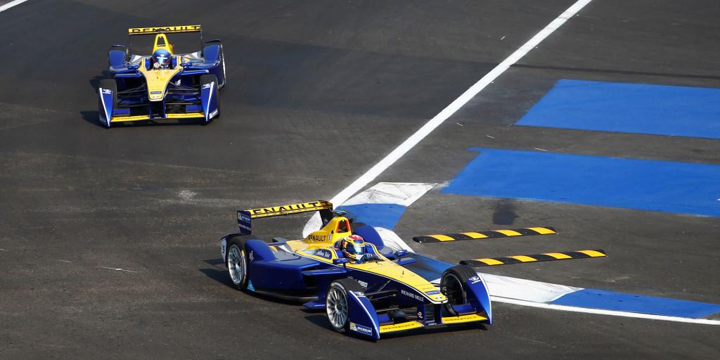 Renault Formel E in Mexiko 2016