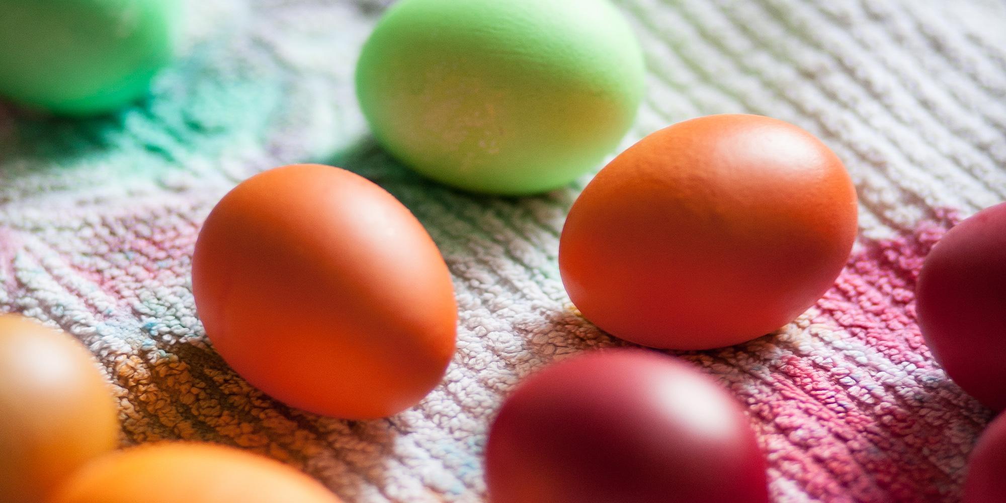 Ziemlich Hartgekochte Eier Für Ostern Färbung Ideen - Malvorlagen ...