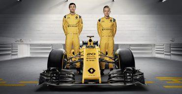 Gestatten: Magnussen und Palmer, Renault Formel 1-Fahrer