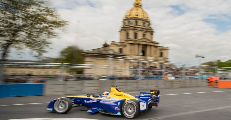 Podestplatz für Renault e.Dams beim Heimspiel