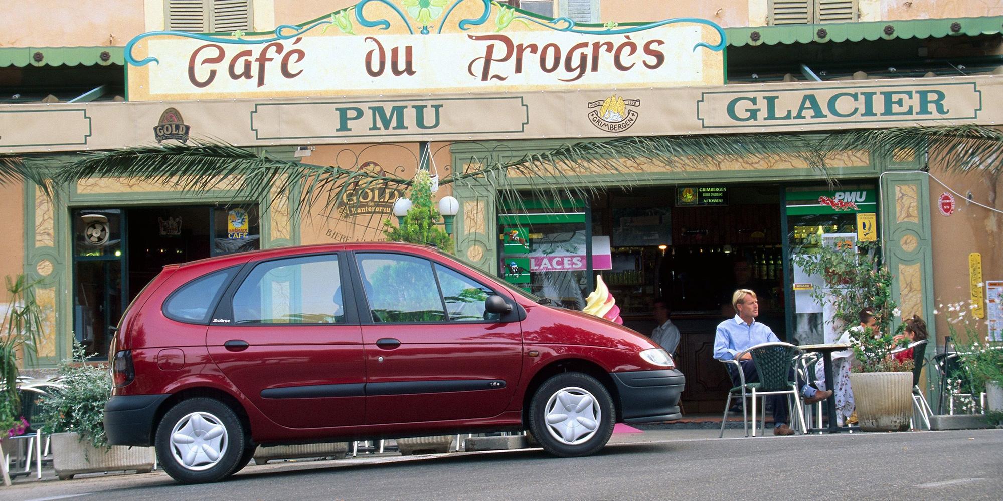 Renault SCENIC feiert 20-jähriges Jubiläum