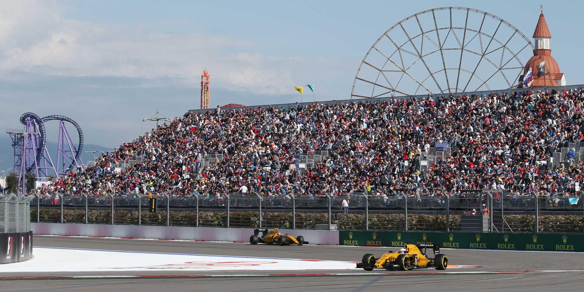 Renault Formel 1 Team GP Russland 2016