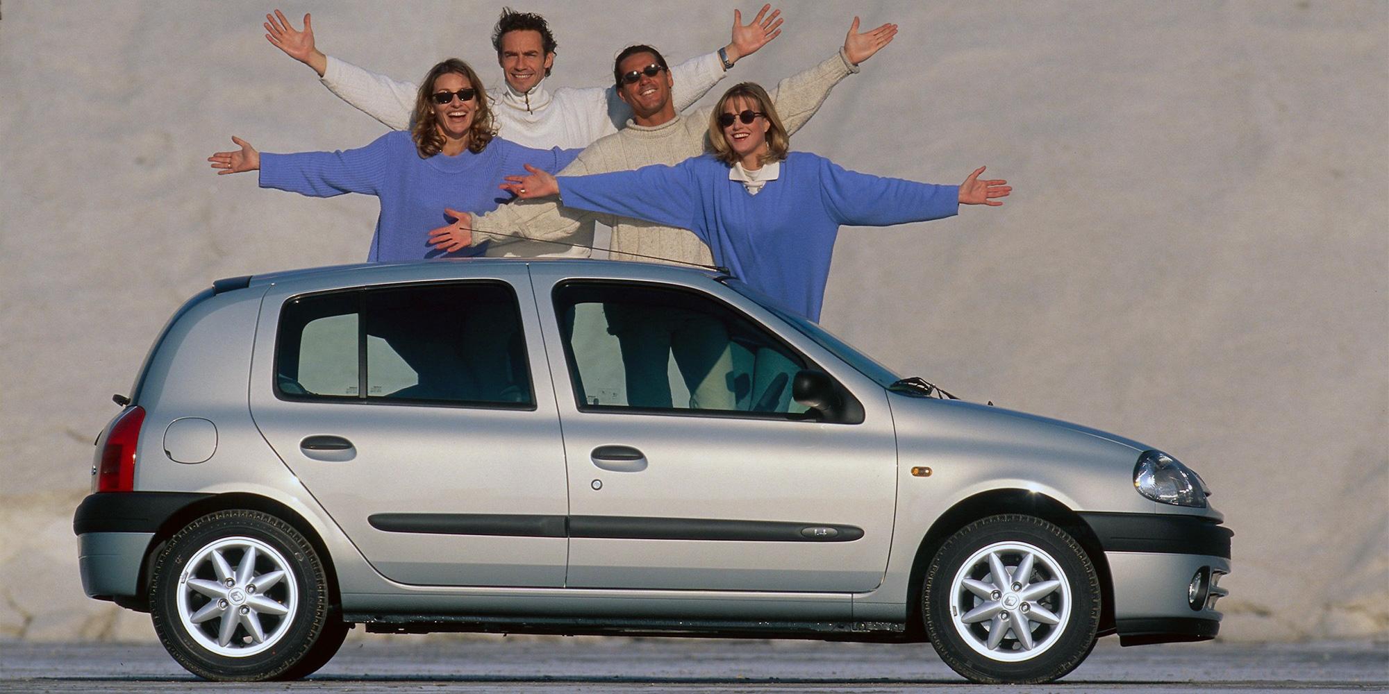 Clio, 2. Generation, Renault, 1997-2005