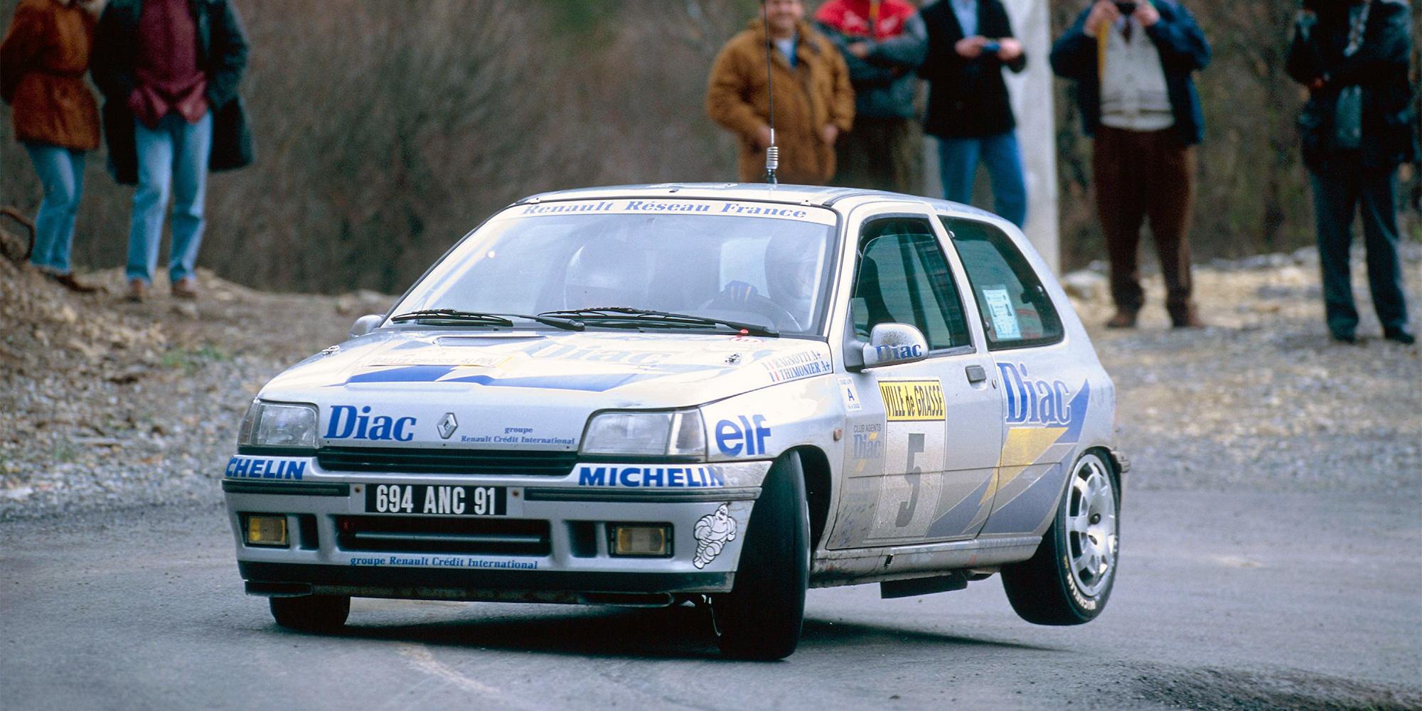 Clio, 16 V, Renault, 1992-1996