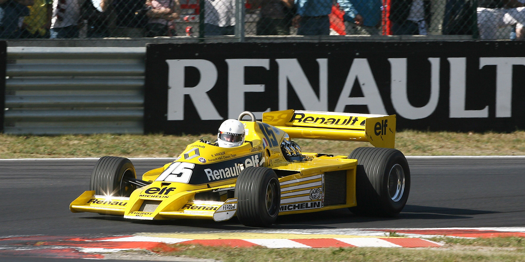 1977: Renault RS01, Historie, erster Turbo in der Formel 1, 2016