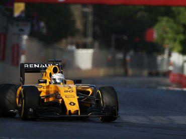Formel 1 in Baku: Renault Sport F1 Team findet seine Pace zu spät