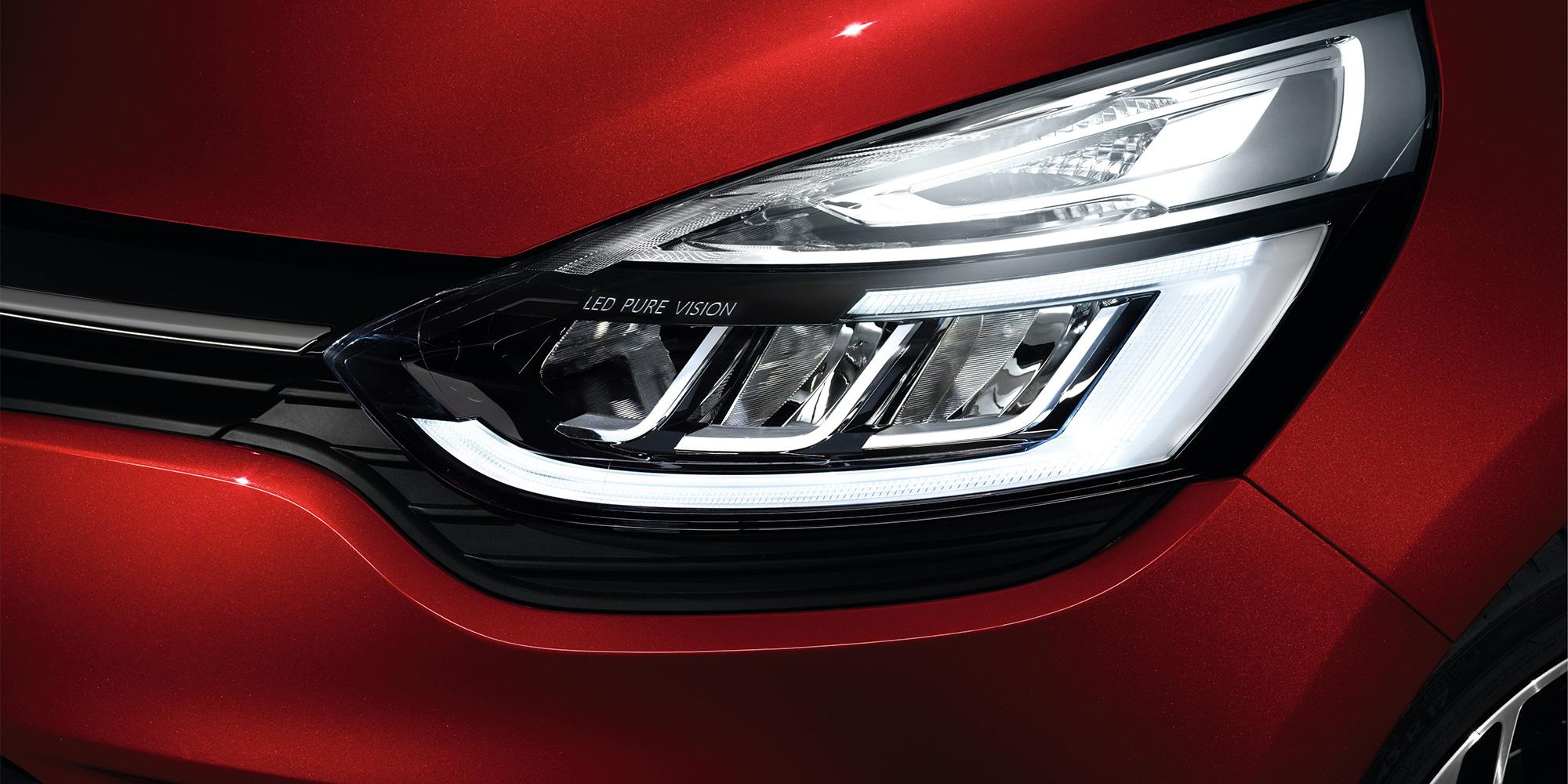 Renault Clio, LED PURE VISION