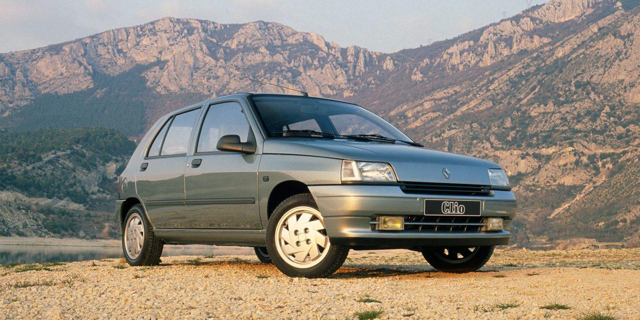 Historie Renault CLIO: Der beliebte Bestseller wird 30 Jahre jung