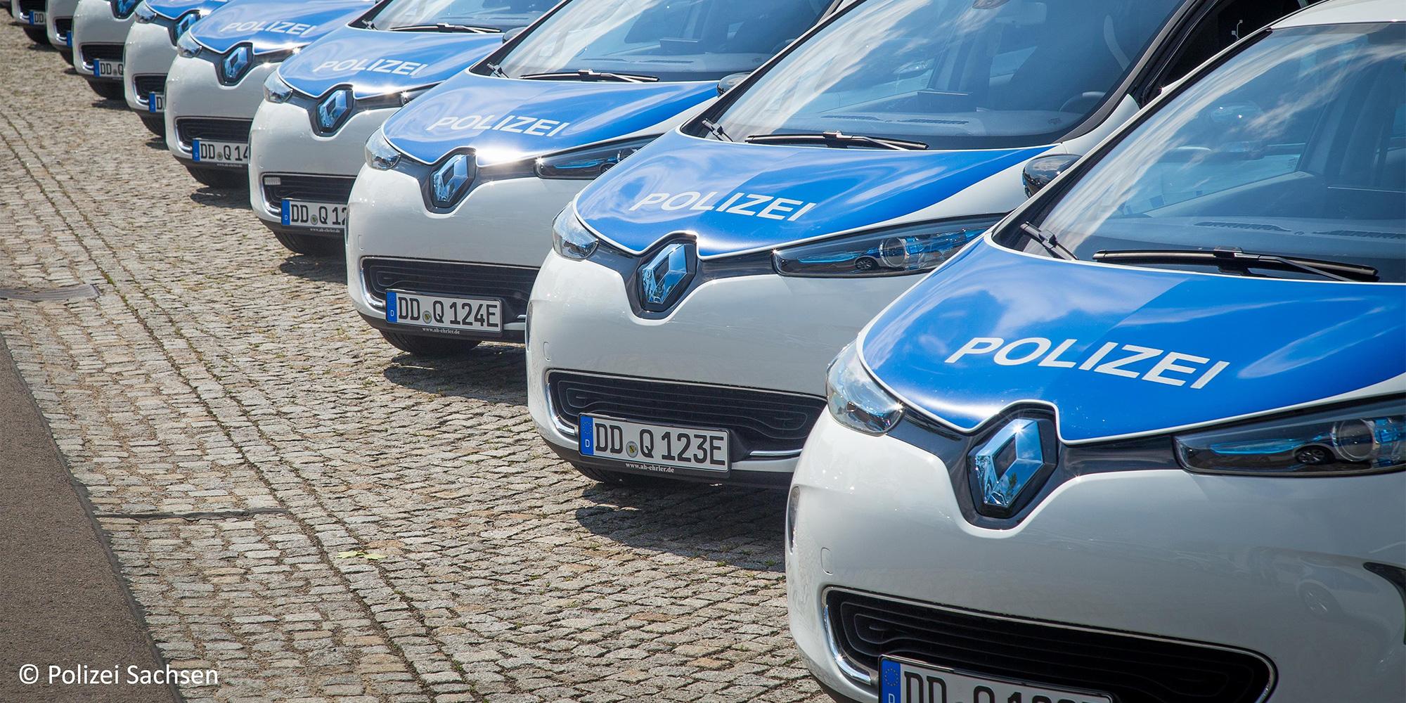 Renault ZOE und Kangoo Z.E. im Polizeidienst
