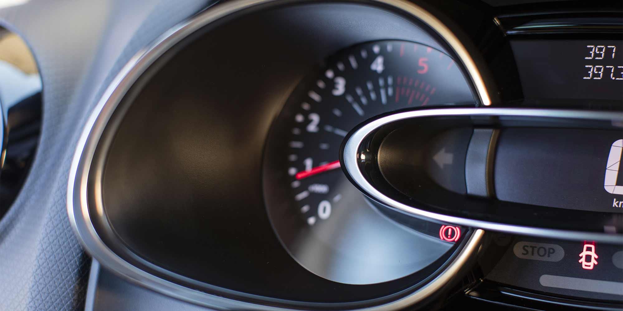Clio, Drehzahlmesser, Renault, 2016