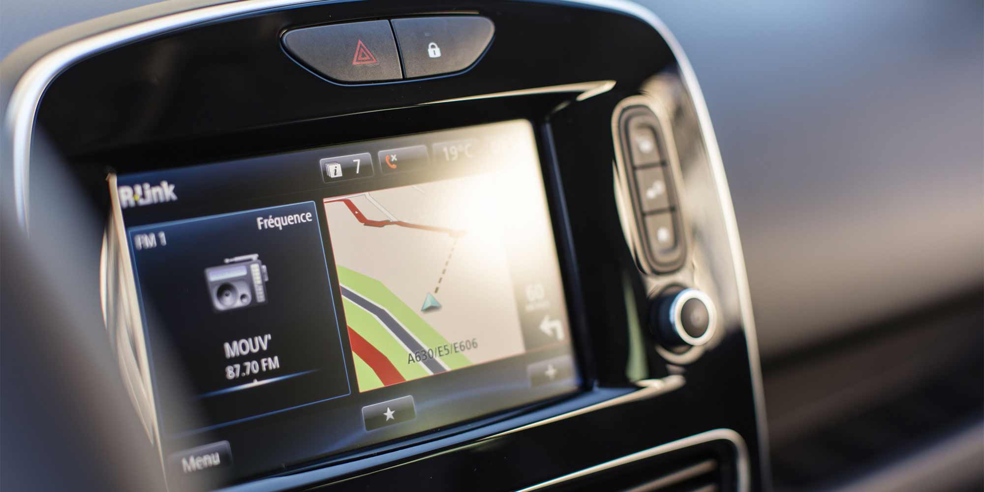 Clio, Navigationssystem, Renault, 2016