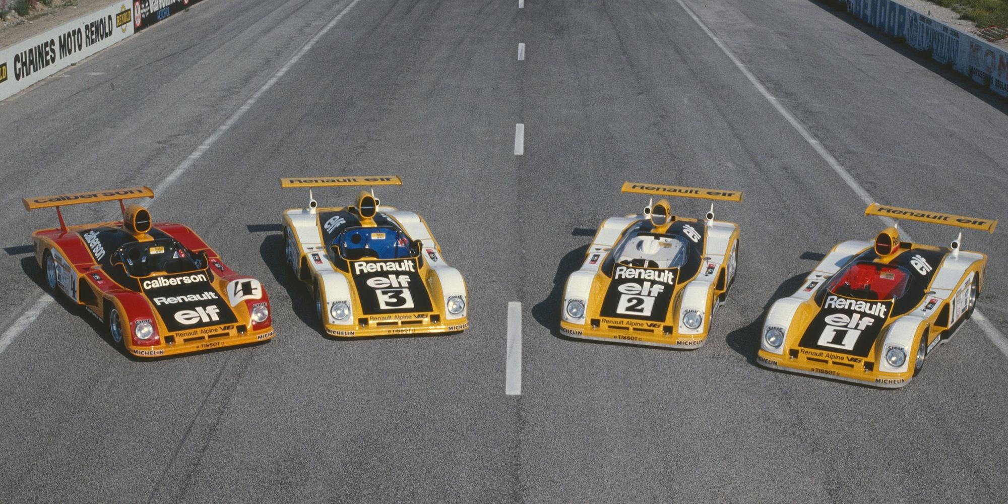 1978 - 24 Stunden von Le Mans Alpine−Renault Familie : A442, A442 B, A443