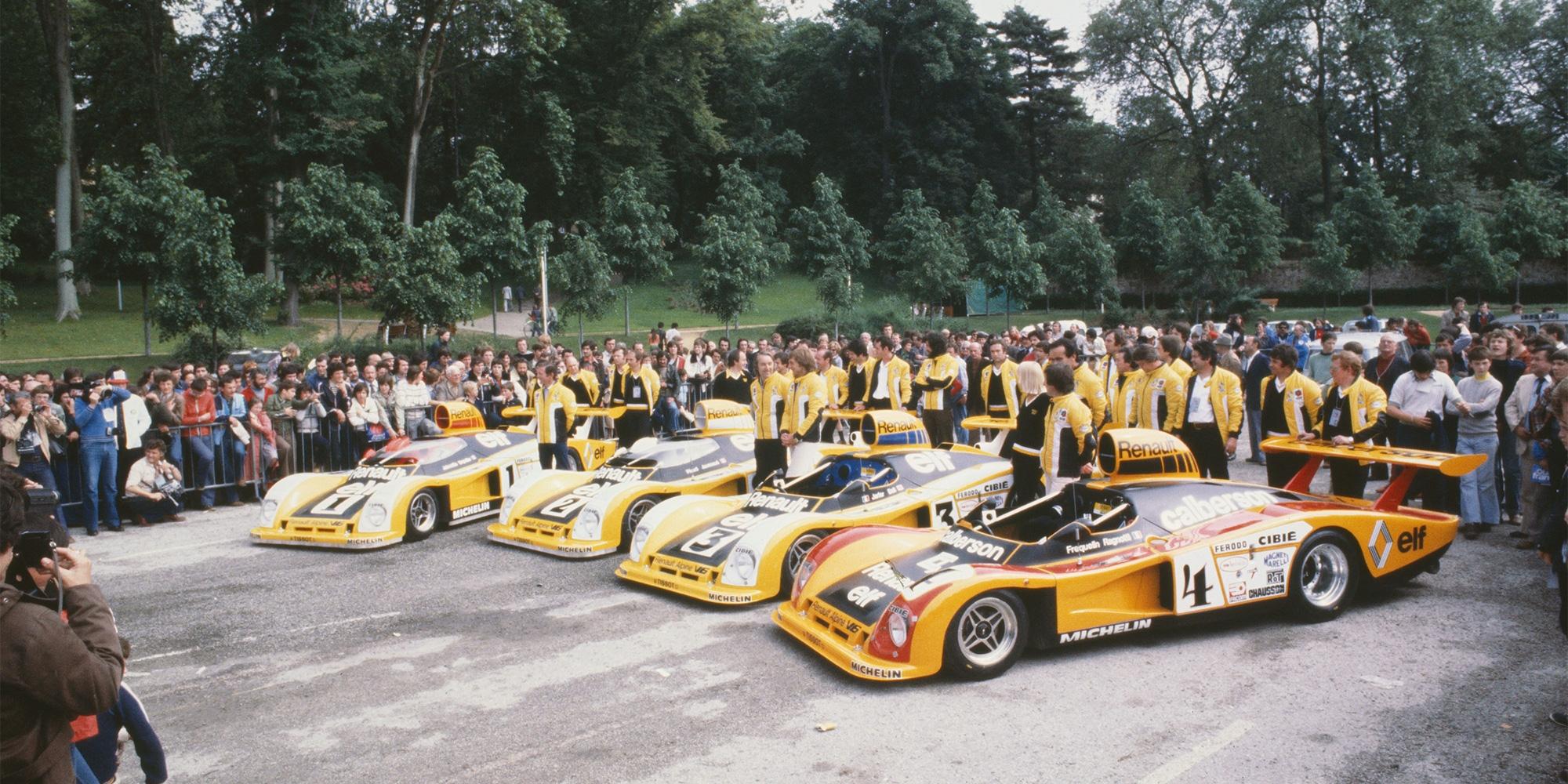1978 - 24 Stunden von Le Mans: Alpine−Renault Familie: A442, A442 B, A443