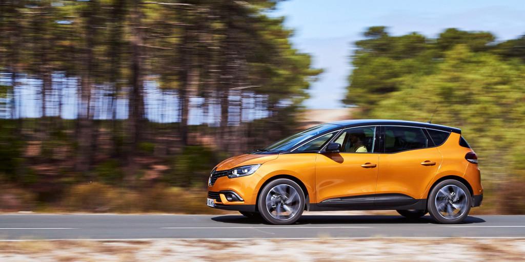 Presse-Showtime für den neuen Renault SCENIC