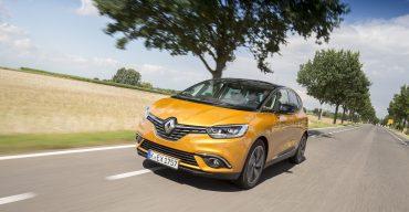 Bestnote für den Renault Scénic im EuroNCAP-Crashtest