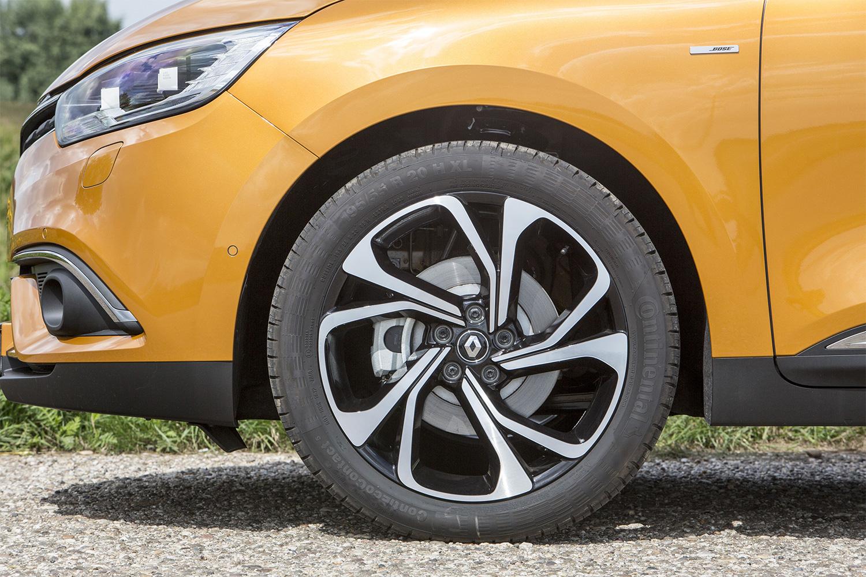 Scénic, Kompaktvan, 17-Zoll-Leichtmetallfelgen, Renault, 2016