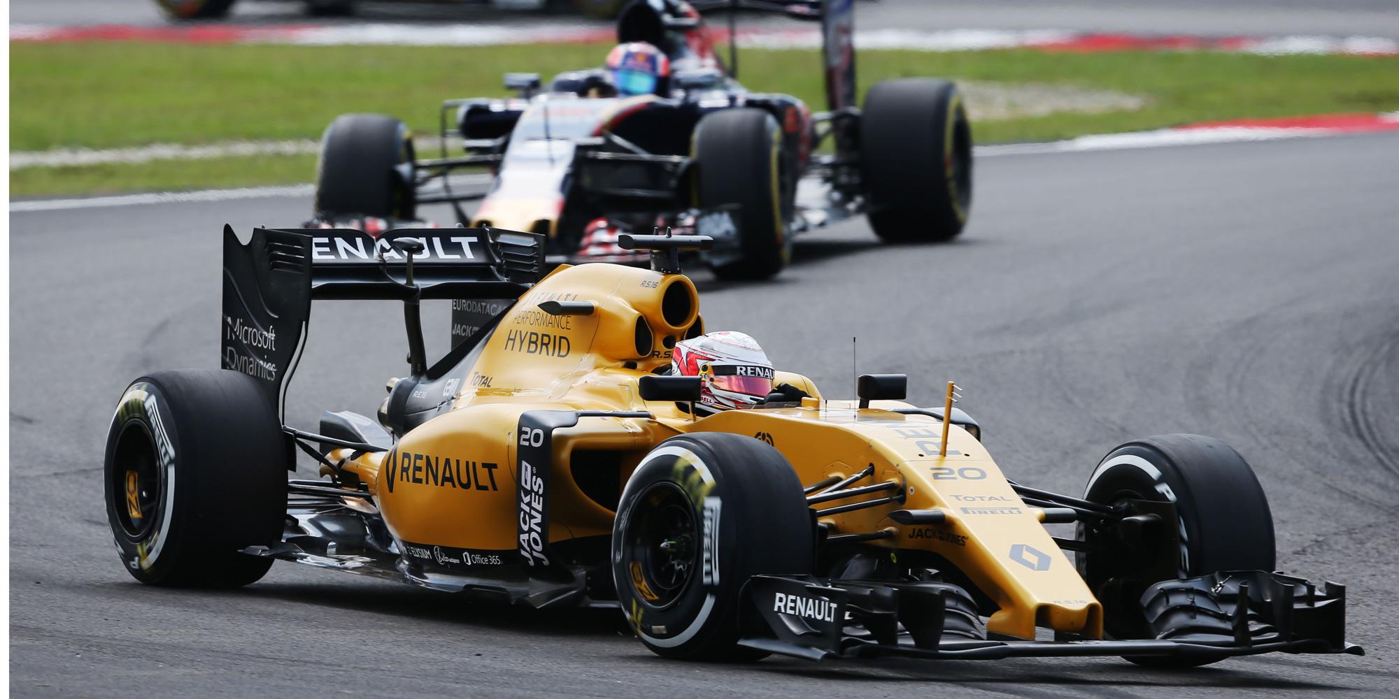 Renault Formel 1 Team, GP Malaysia