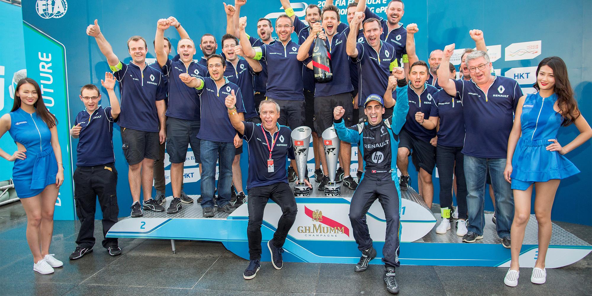 Traumstart für Renault e.dams in neue Saison
