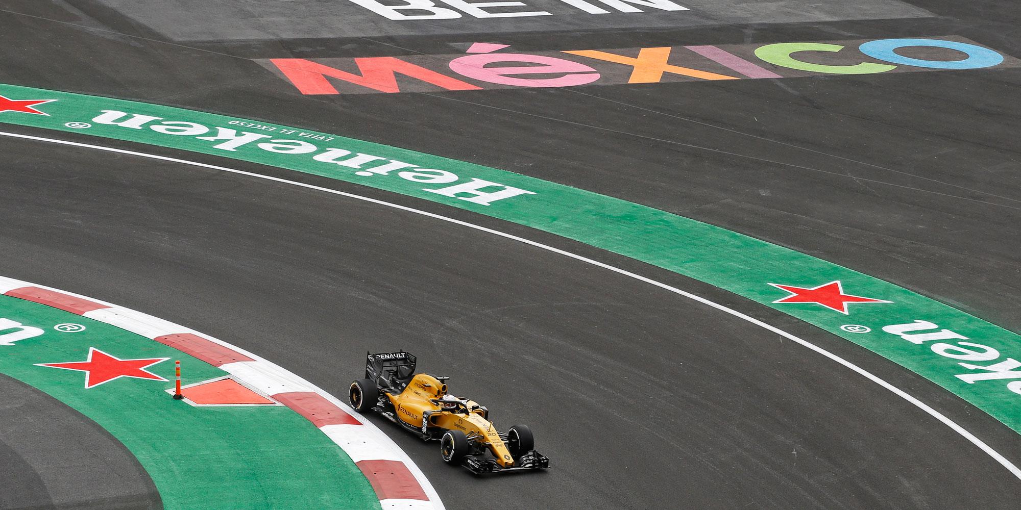 Renault F1 Team in Mexiko