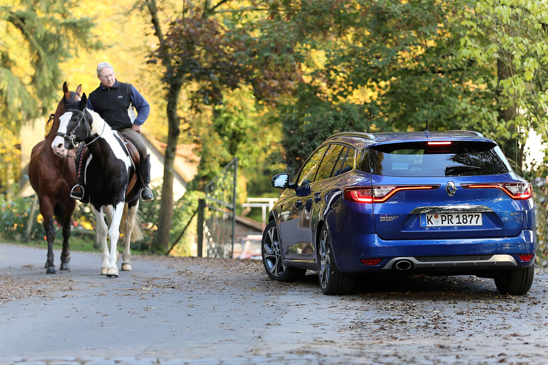 Renault Mégane Grandtour auf dem Land