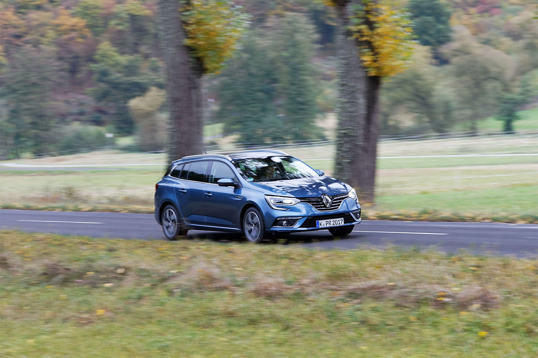 Renault Mégane Grandtour unterwegs