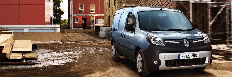 Renault Kangoo Z.E.: Heben Sie sich von der Menge ab
