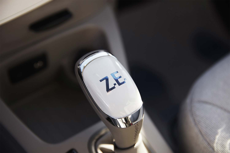 Renault ZOE Schalthebel: Design