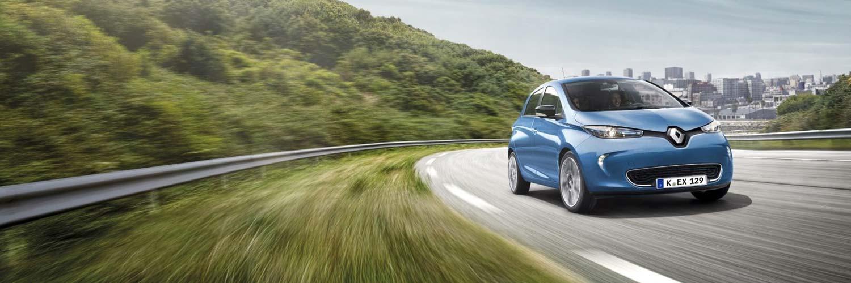 Renault ZOE: Fahren Sie 100% elektrisch