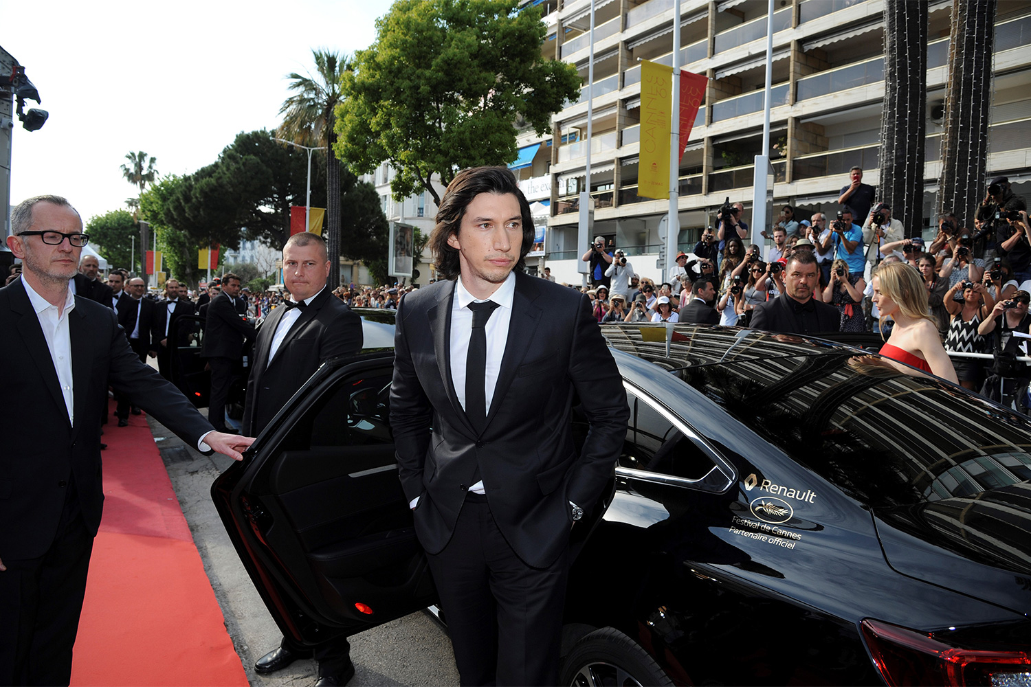 2016 Cannes Festival Adam DRIVER and Renault TALISMAN
