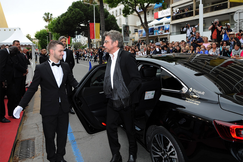 2016 Cannes Festival Jean-Michel JARRE and Renault TALISMAN