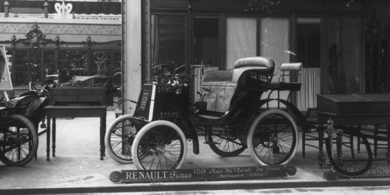 Renault auf den Weltausstellungen