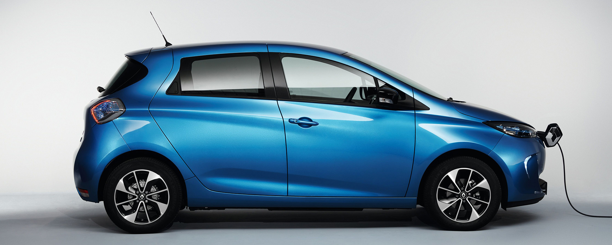 Renault ZOE an der Ladestation