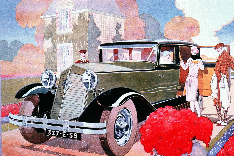 Renault Plakat, Reinastella