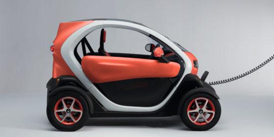 Renault TWIZY: Laden leicht gemacht