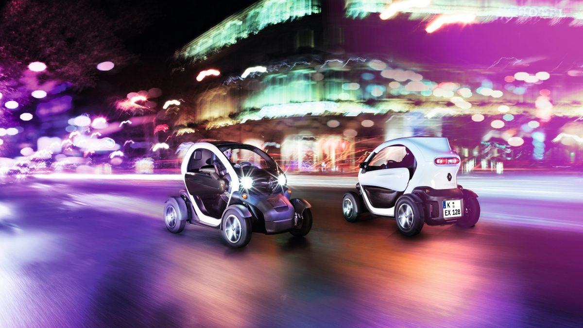 Renault TWIZY: Der Inbegriff des urbanen Designs