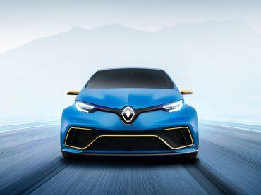 Pulsbeschleuniger: Elektrostudie ZOE e-Sport Concept