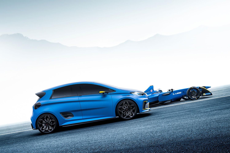 Zwei E-Motoren, 462 PS: ZOE e-Sport Concept in Genf